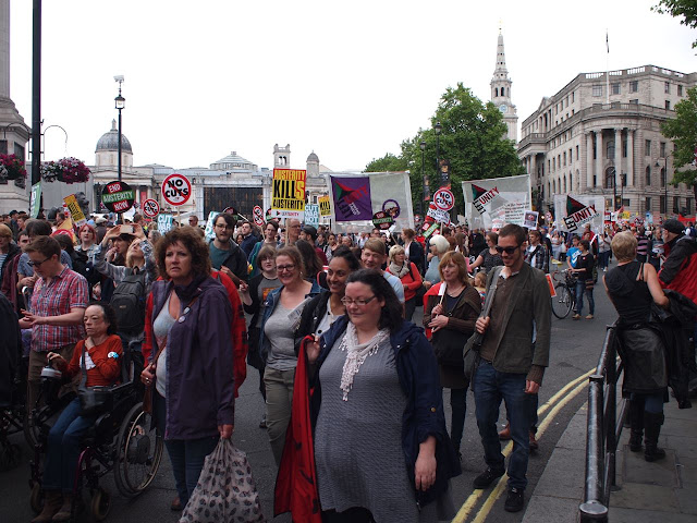20/06/15 Anti-austerity march , London