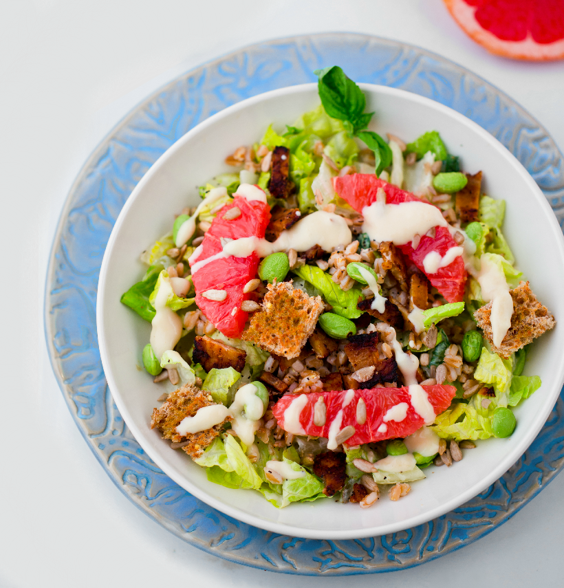 Summer Caesar Salad from Healthy Happy Vegan Kitchen