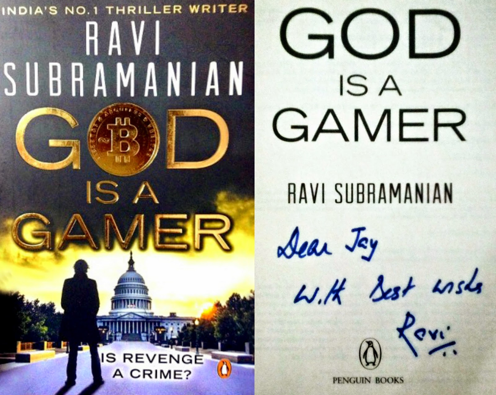 fiction,book,2014,ravi subramanian,god is a gamer,bitcoin,thriller,bestseller,silk road