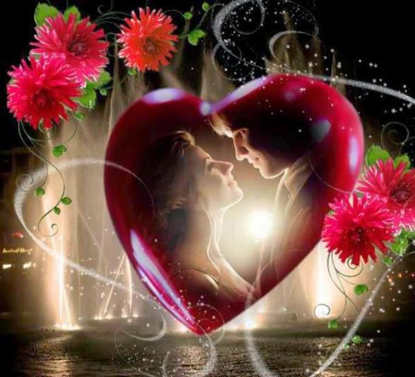 Imagenes de corazones brillantes - Imágenes de amor lindas