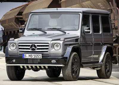 Mercedes g500 Review  Exterior.
