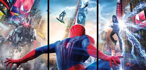 The Amazing Spider-Man 2: El Poder de Electro - Banner