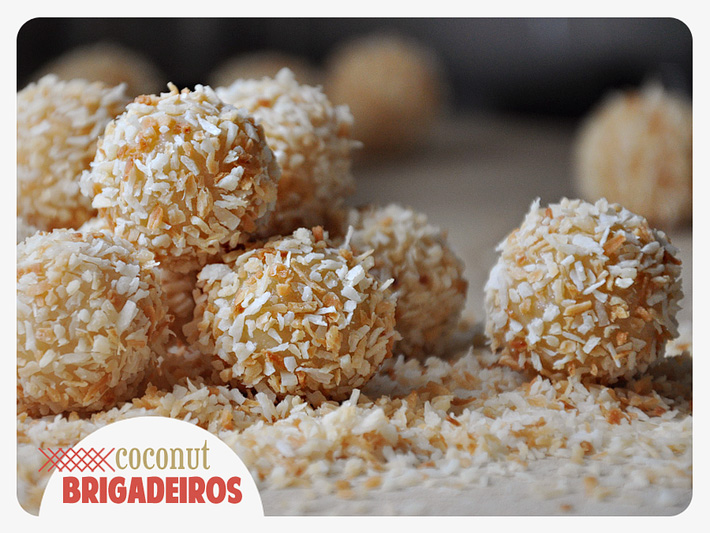 the parsley thief: Coconut Brigadeiros