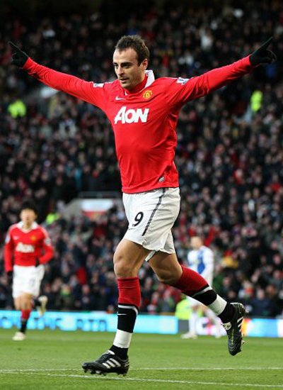 Dimitar Berbatov Entertainment Man Utd 2011-2012