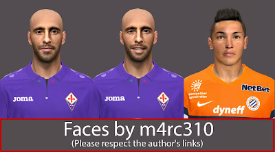 PES 2014 MiniFacepack vol.3 by m4rc310