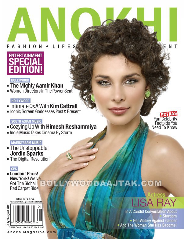 Lisa Ray Photoshoot for Anokhi Magazine July 2011