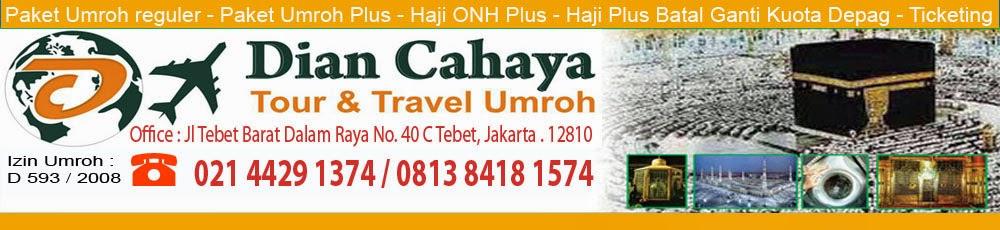 Travel Umroh Haji Dian Cahaya   Harga Biaya Paket Umroh