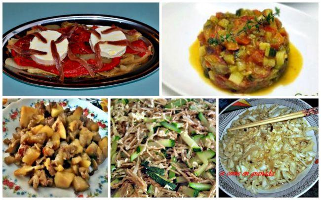 Cinco recetas de guarniciones variadas