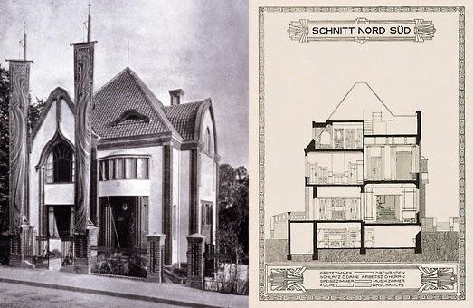 Hasxx teor a la f brica de turbinas aeg 1907 1910 for Behrens house