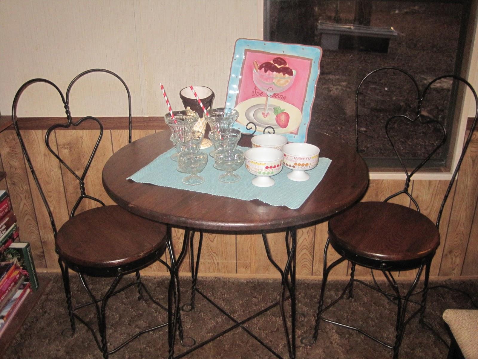 Ice Cream Table U0026 Chairs