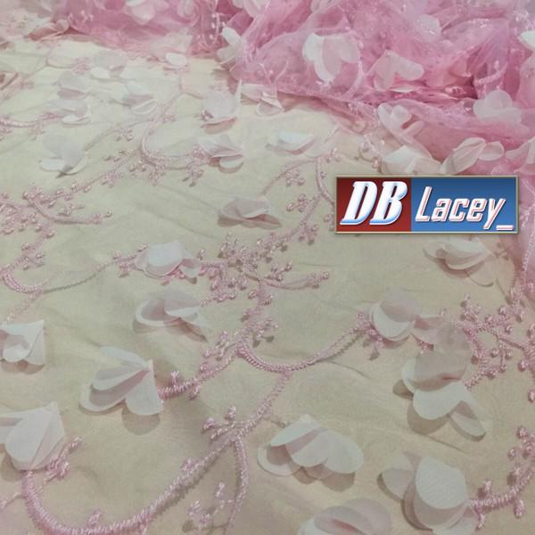 Promosi harga diskaun lace 3D harga paling murah drp DBLacey