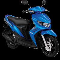 Gambar Motor Yamaha Mio Soul GT Biru (Masculine Blue)