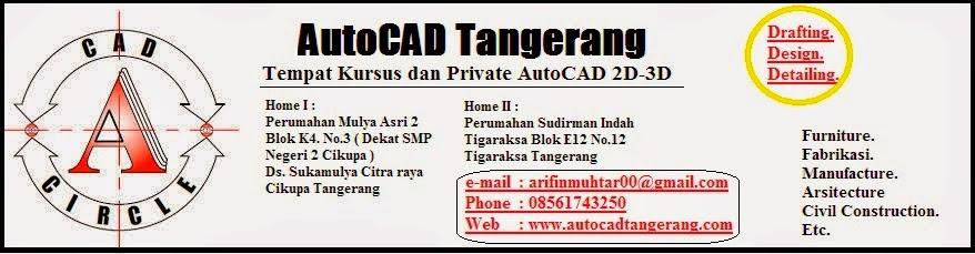 AutoCAD Tangerang.