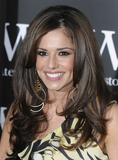 Long layered hairstyle from Cheryl Cole