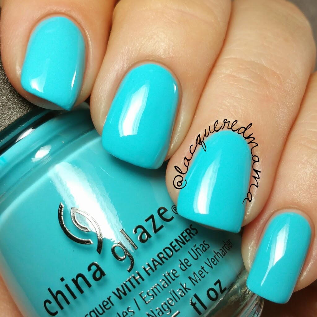 LacqueredMama: China Glaze® - Electric Nights Neon Collection ...