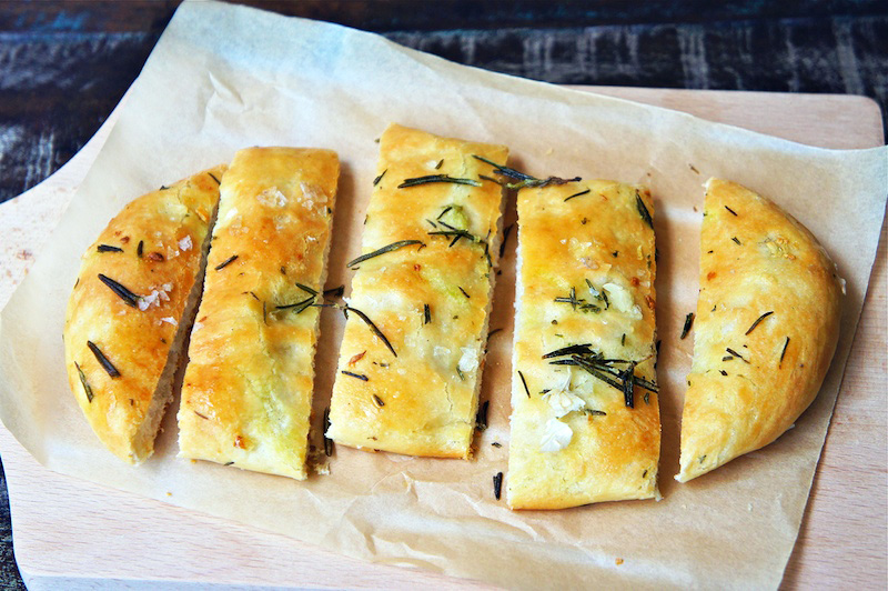 Seasaltwithfood: Rosemary Garlic Flatbread