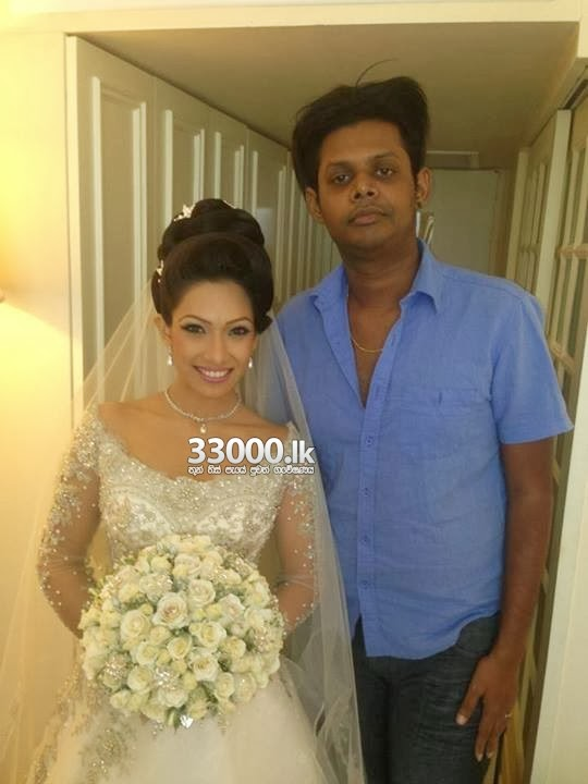 Nehara Menaka Wedding Day