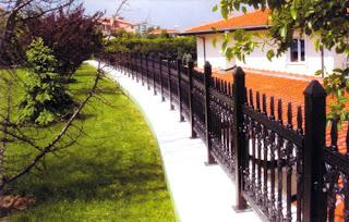 p32 Bahçe çit modelleri