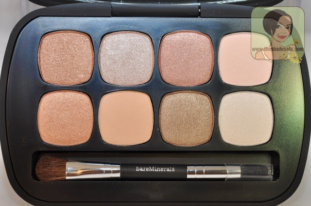 bareMinerals Ready 8.0 Eyeshadow palette in The Nude Beach
