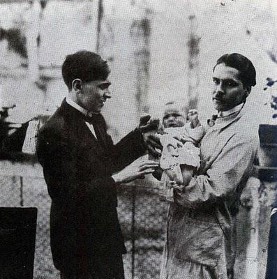 José Carlos Mariátegui con Artemio Ocaña
