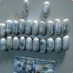 Nigerian man arrested in Lagos airport trying to smuggle out $34k wrapped in pellets!