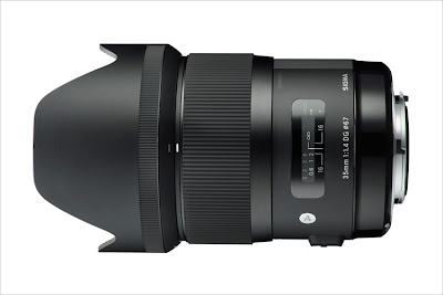 Fotografia del Sigma 35mm F/1.4 DG HSM