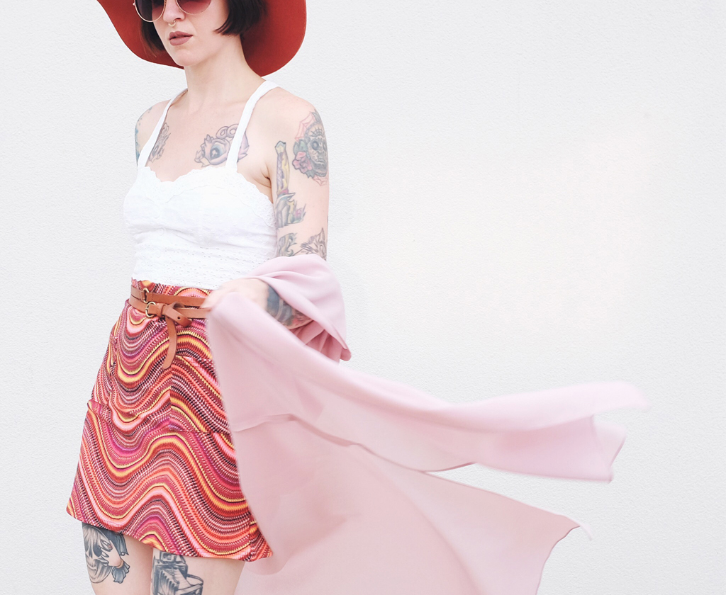 70s Boho Outfit - Mini Penny Blog