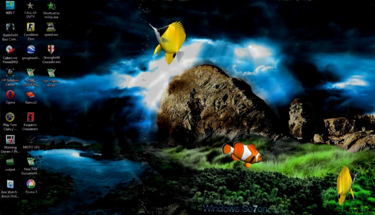 Animated Screensavers For Windows 7 Download Hd