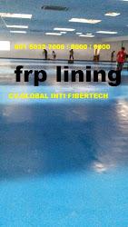Pelapisan glass | frp lining