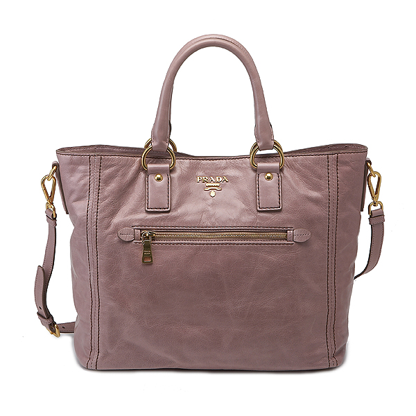 Prada Tote Bag: Prada Vitello Shine Tote Bag