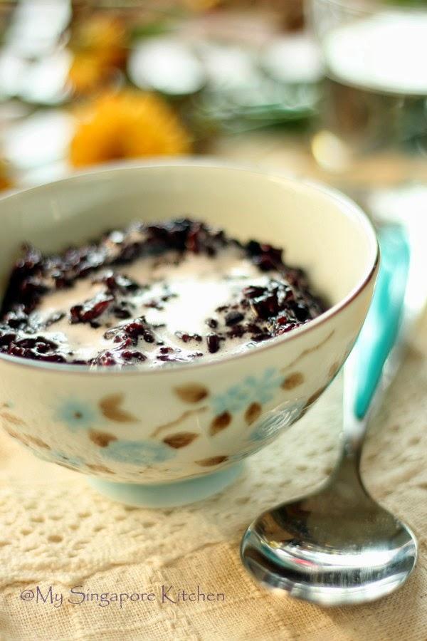 Pulut Hitam and health benefits of Black Glutinous Rice