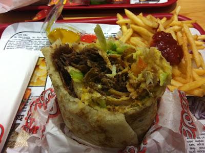 veal doner kebab shawarma