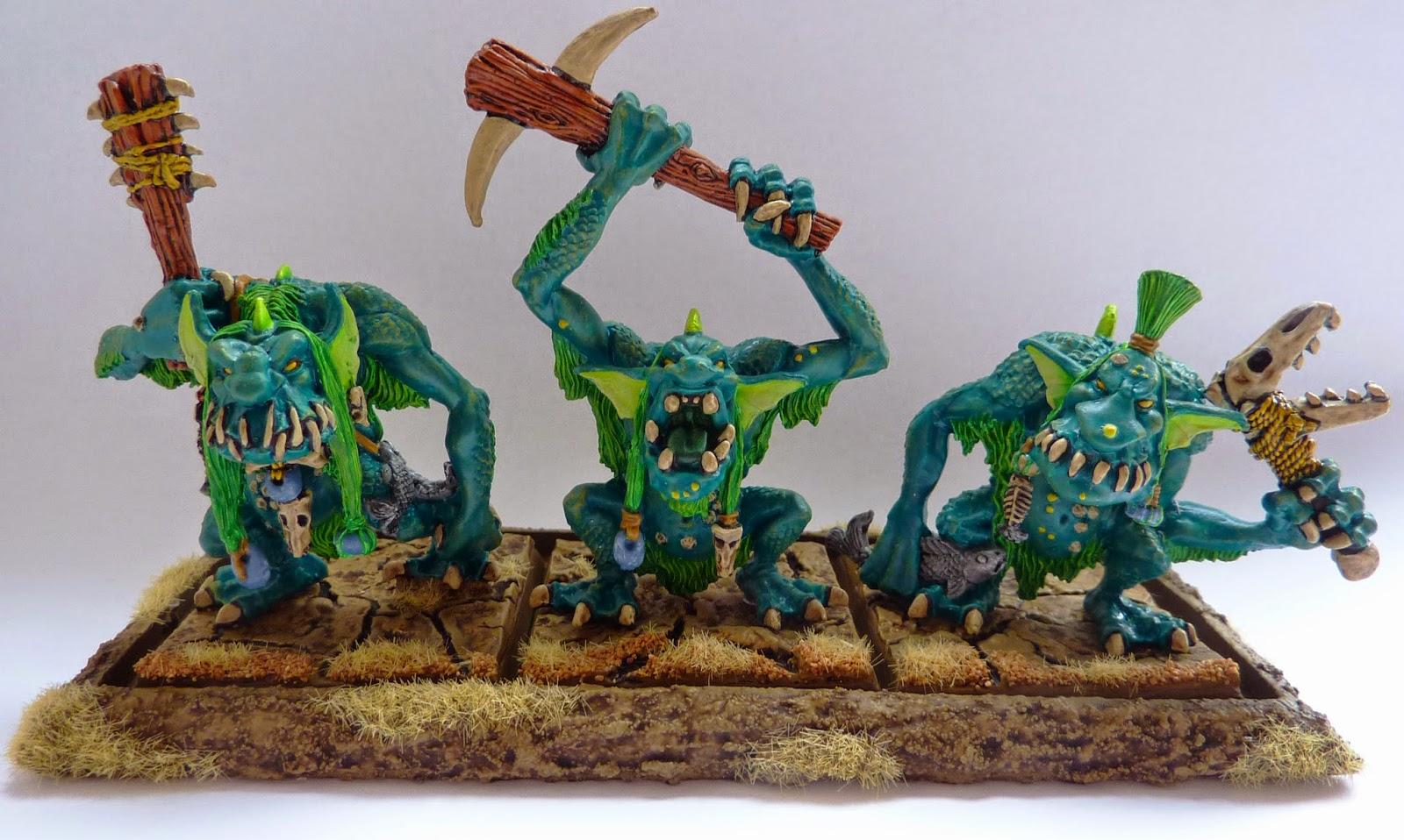 Classic Warhammer River Trolls