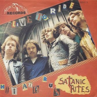 Satanic Rites - Live to Ride/Hit and Run (1981) NWOBHM