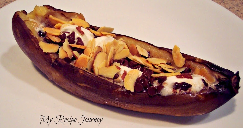 My Recipe Journey: Campfire Banana Boats!