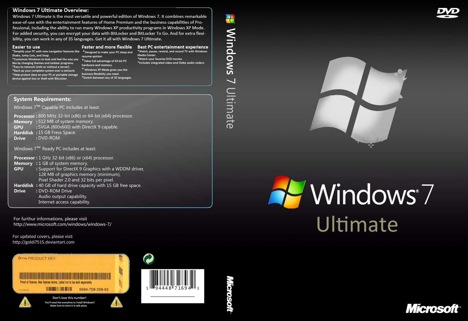 windows 7 ultimate product key iso