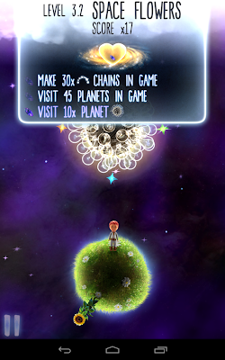 Little Galaxy: Level objectives