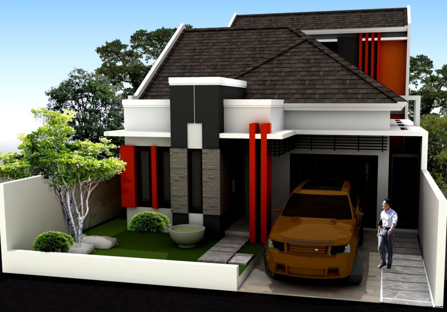 Rumah Minimalis Modern 1 Lantai  Cara Mendesain Rumah