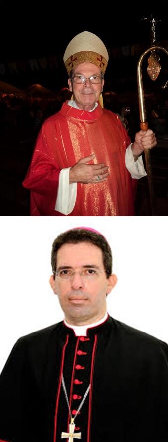 Oremos por nosso Bispo Dom Afonso e pelo seu coadjutor Dom Waldemar