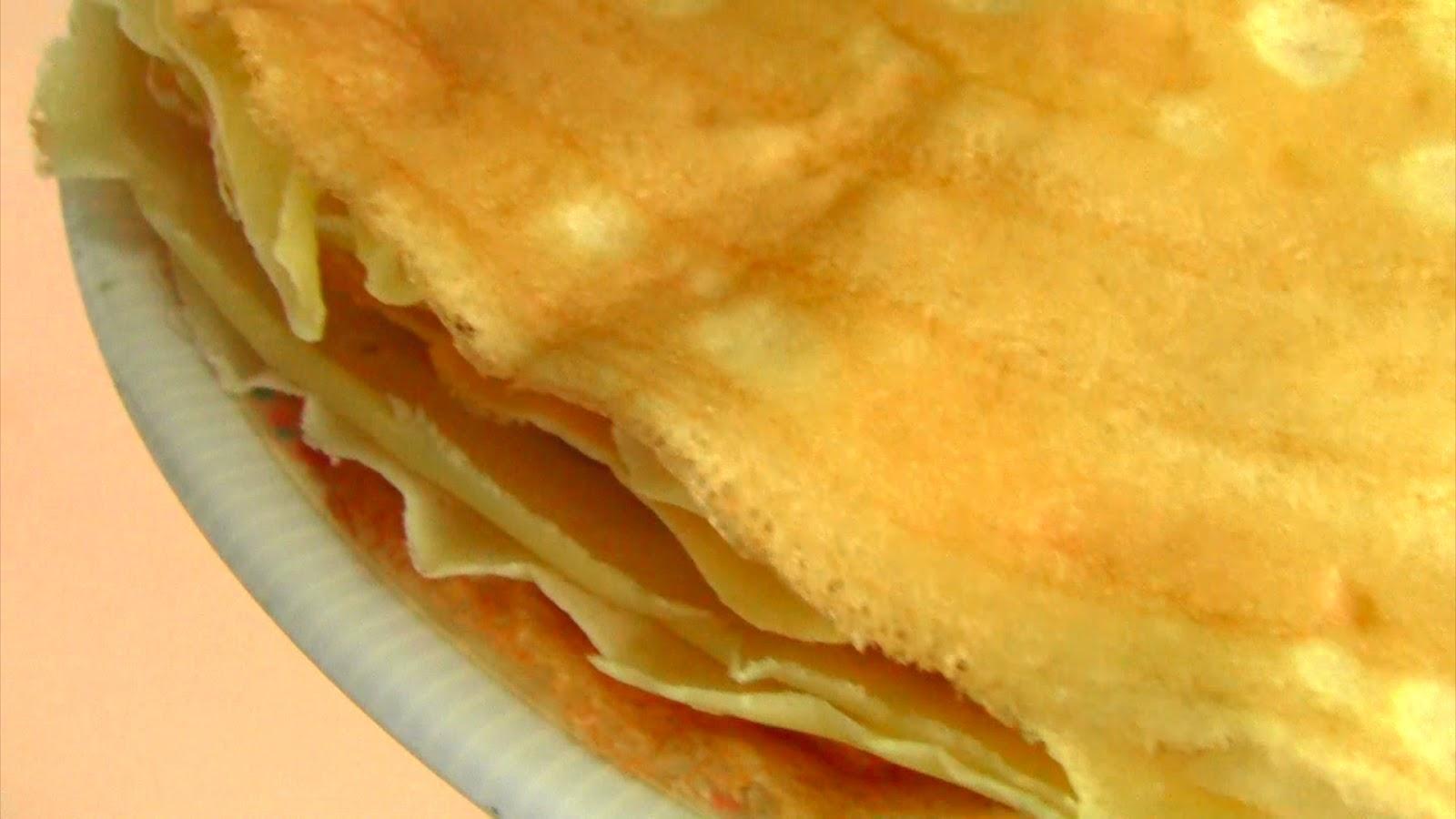 crepes basic crepes gateau de crepes banana crepes dessert crepes ...