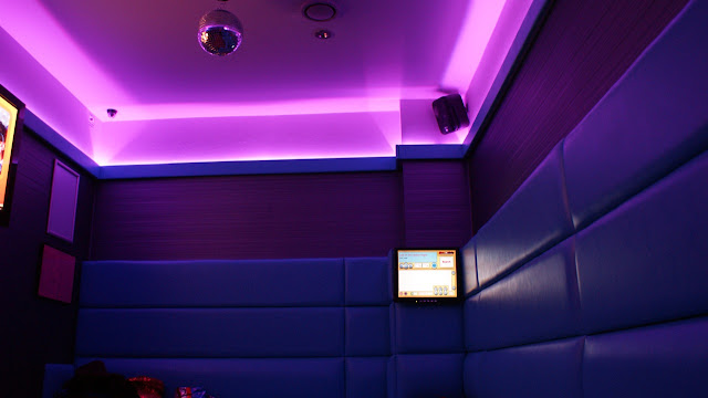Purple effect of the LED Tape