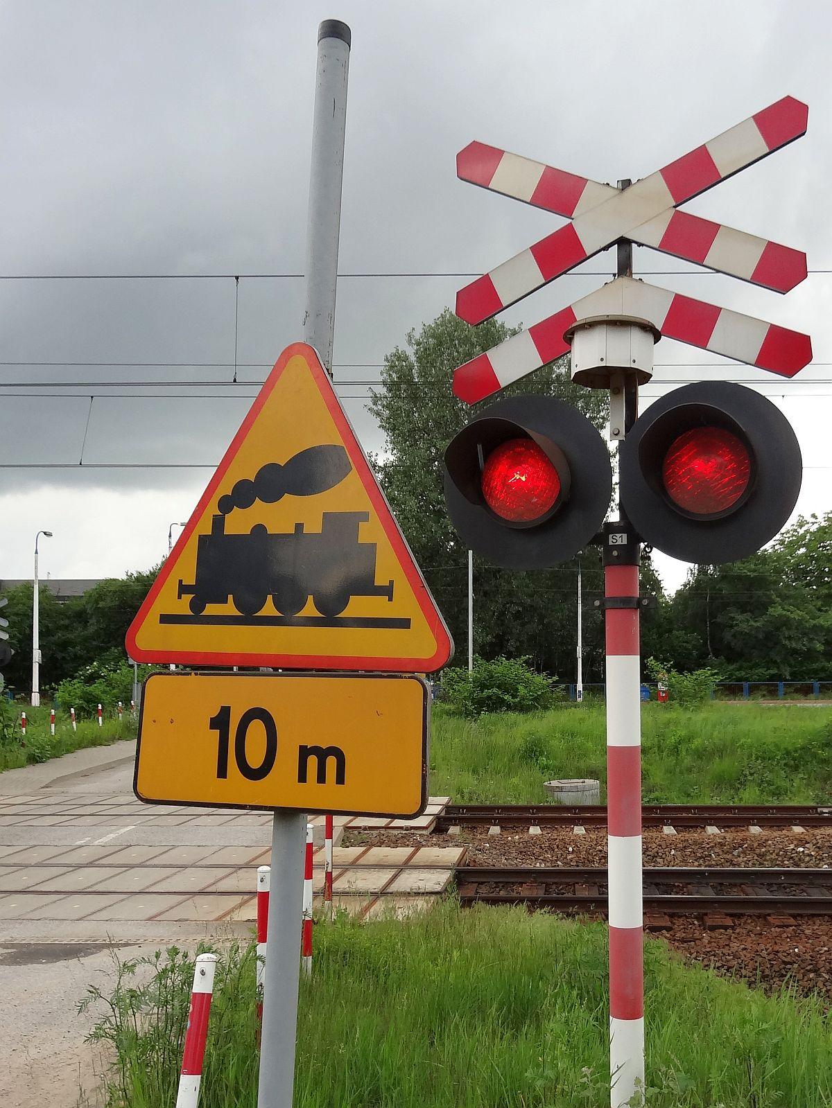 Stop! Strzeż się pociągu!