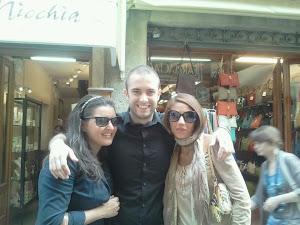 Scuola di formazione Politica a Cortona. Con gli amici dell'Abruzzo: Valeria e Fabrizio!