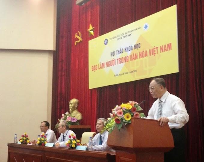 """Hội thảo khoa học """"Đạo làm người trong văn hóa Việt Nam"""""""