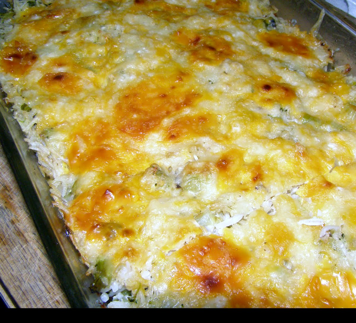 Wills Kitchen: Broccoli Rice Casserole