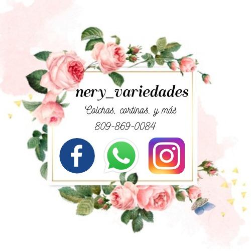 D' NERY_VARIEDADES, COLCHAS, CORTINAS Y MAS