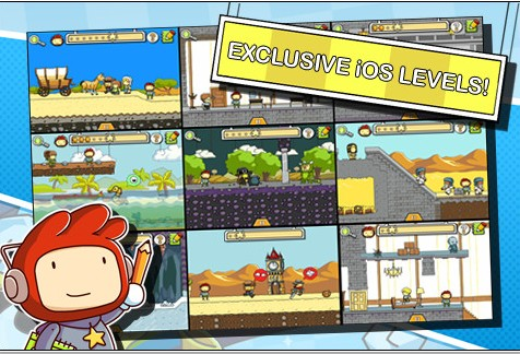 Scribblenauts Remix walkthrough for iphone, ipod touch, ipad.