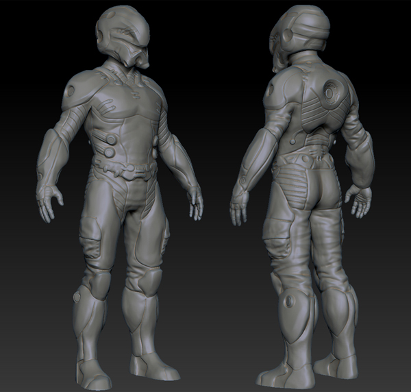 Future G Suit by Frank Belardo. How I envisioned the Flash Suits would look from the Ender's Game Movi