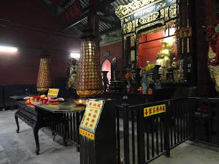 Pabellón norte del templo de Lin Fung de Macao