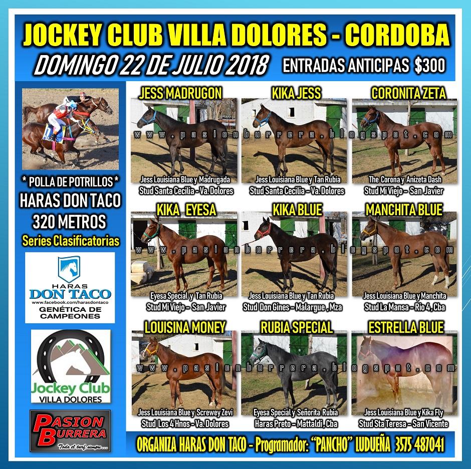 VILLA DOLORES - 22 DE JULIO - POLLA